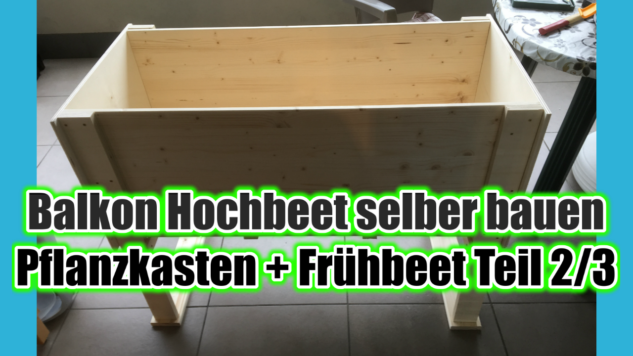 hochbeet balkon diy bio balkongarten blog. Black Bedroom Furniture Sets. Home Design Ideas