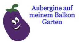 aubergine balkon garten